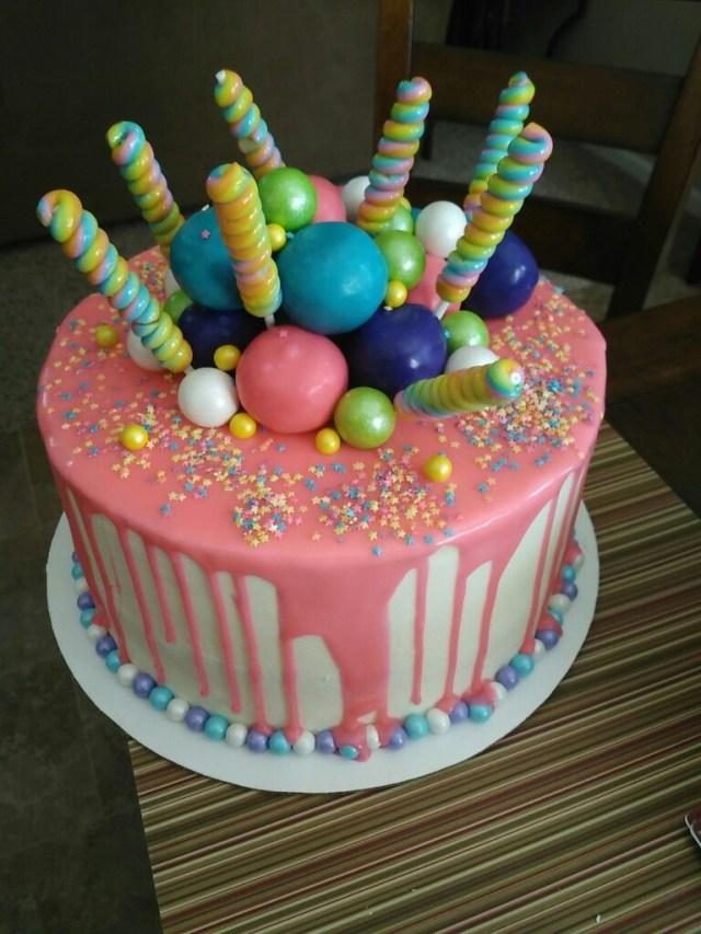 Birthday Cakes For Teenage Girl Teen Girl Birthday Cake Cakes I Have Made Pinterest Birthday