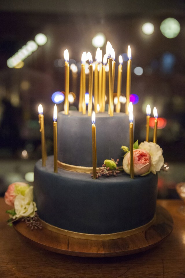 Birthday Cakes With Candles 30th Dinner Party Parties Celebrations Pinterest