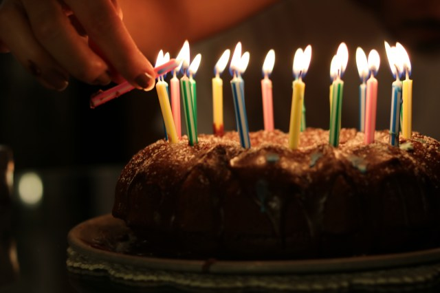 Birthday Cakes With Candles Birthday Cake With Candles Free Photo Foodie Factor