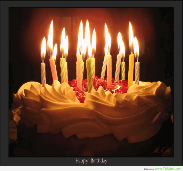 Birthday Cakes With Candles Happy Birthday Sharon Happy Birthday Pinterest Birthday