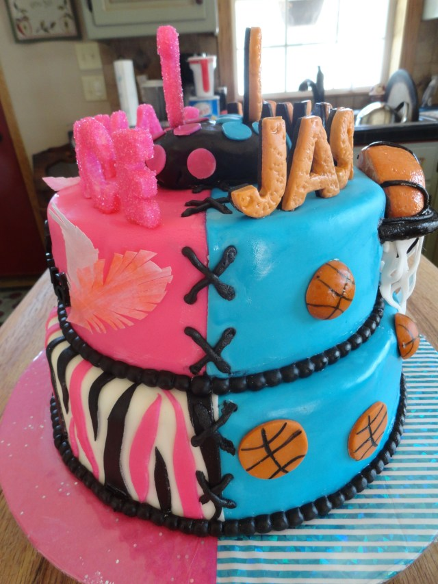 Birthday Party Cakes Childrens Birthday Cakes This Was For A Brother Sister Birthday