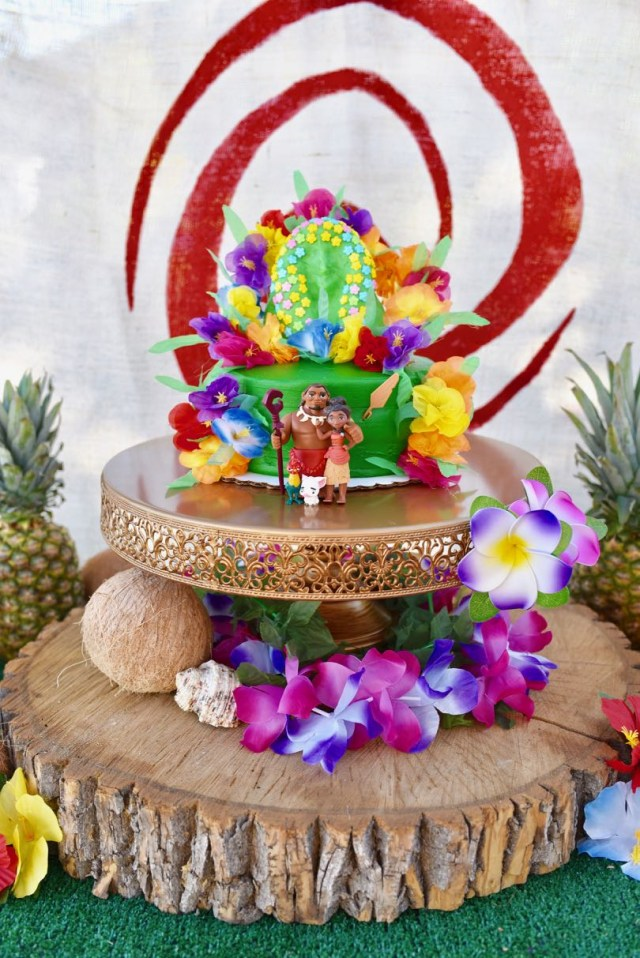Birthday Party Cakes Moana Birthday Party That Will Inspire You Make Life Lovely