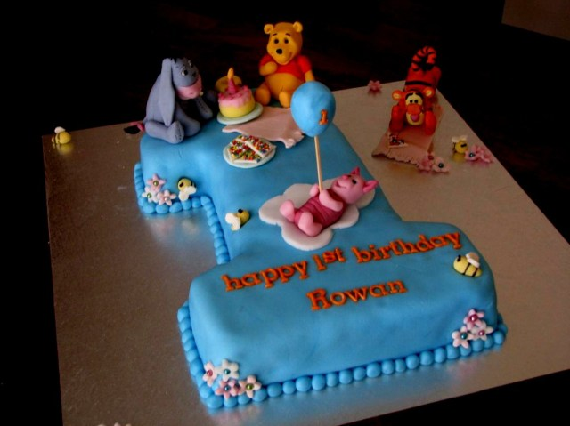 34 Brilliant Photo Of Boys 1st Birthday Cake Designs