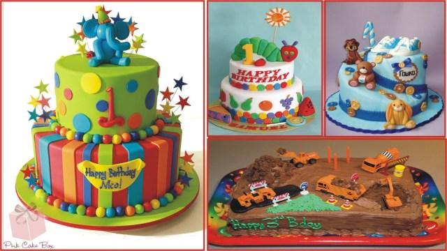 Boys Birthday Cakes Birthday Cake Ideas For Children Youtube