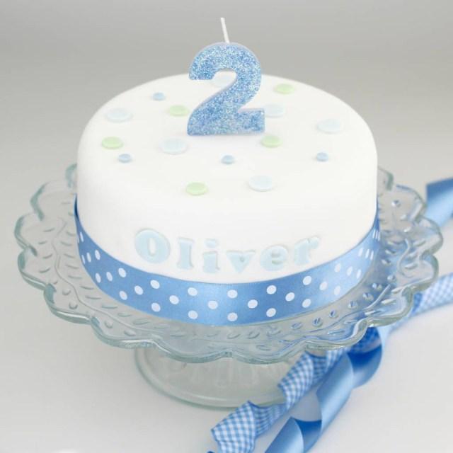 Boys Birthday Cakes Personalised Boys Birthday Cake Decorating Kit Clever Little Cake