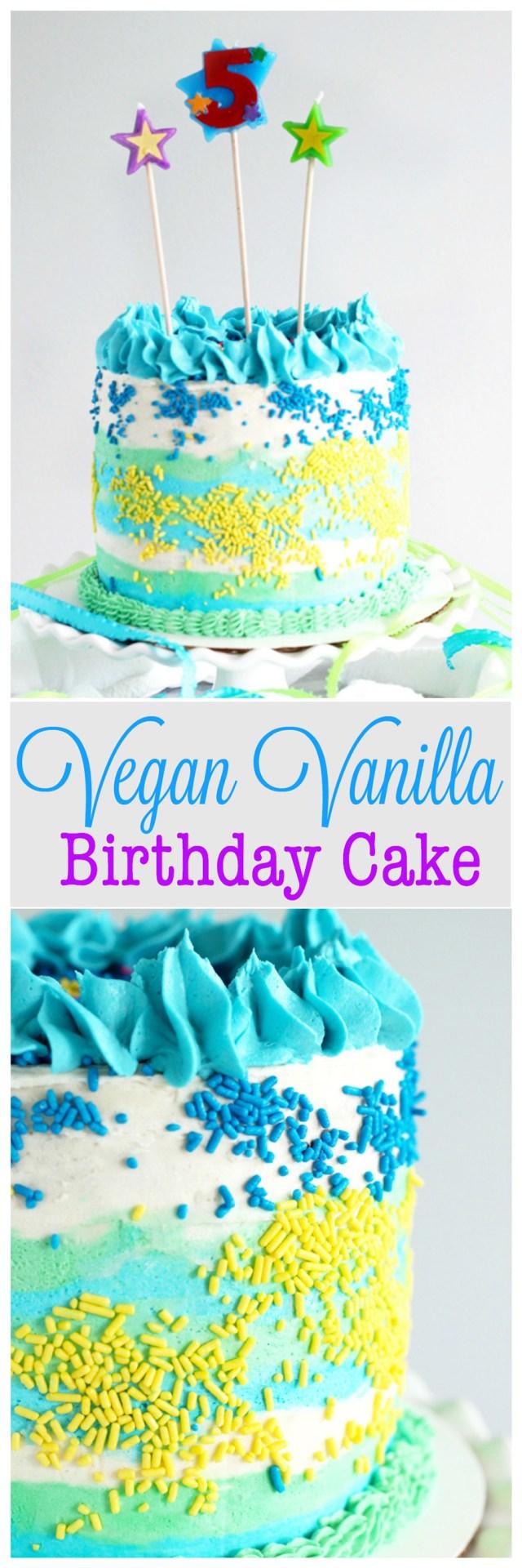 Boys Birthday Cakes Vegan Vanilla Birthday Cake Neuroticmommy