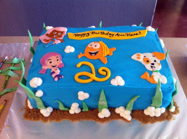 Bubble Guppies Birthday Cake Bubble Guppies Birthday Cake Decorations Stickers Stars And Smiles