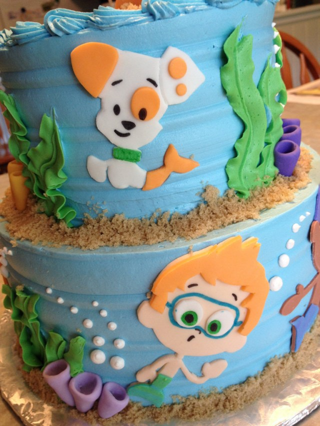 Bubble Guppies Birthday Cake Bubble Guppies Birthday Cake Grace Ful Cakes Flickr