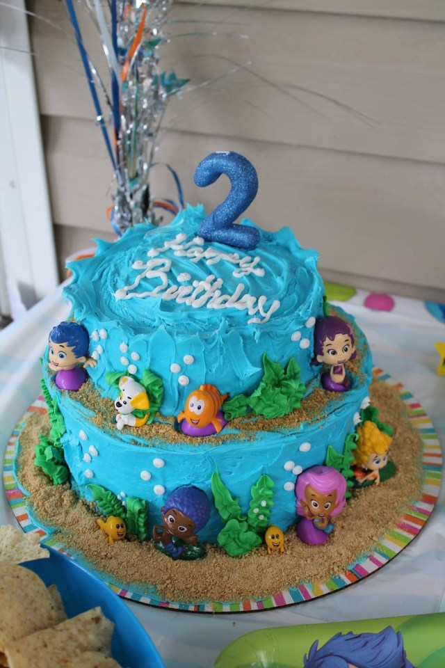 Bubble Guppies Birthday Cake Bubble Guppies Cake Cakes Ive Made Pinterest Bubble Guppies