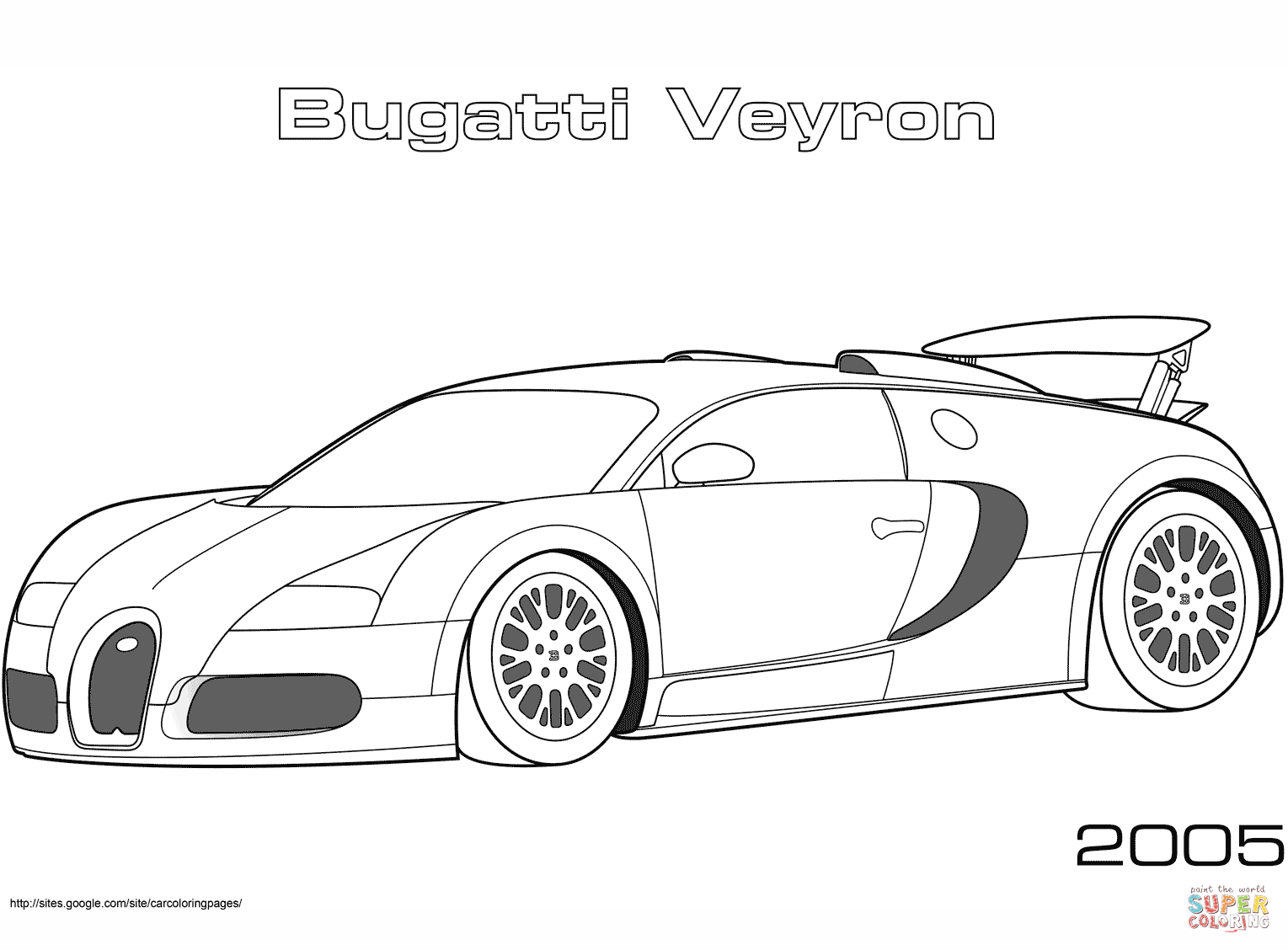 Pretty Image of Bugatti Coloring Pages - albanysinsanity.com