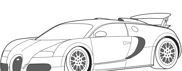 Bugatti Coloring Pages 2005 Bugatti Veyron Coloring Page Free Printable Coloring Pages