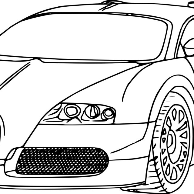 Bugatti Coloring Pages Bugatti Coloring Pages Free Chiron Veyron Colouring Formidable Pdf