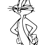 Bugs Bunny Coloring Pages Bugs Bunny Coloring Page Wecoloringpage