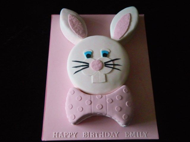 Bunny Birthday Cake 10 Bunny Shaped Birthday Cakes Photo Rabbit Shaped Birthday Cake