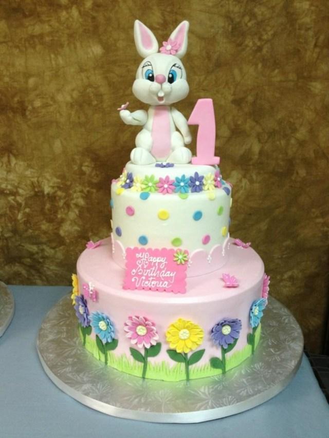 Bunny Birthday Cake Easter Bunny Birthday Cake Cakecentral