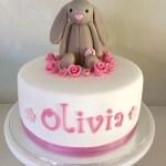 Bunny Birthday Cake Jelly Cat Bunny Cake Ba Shower Cake Birthday Cake Rabbit Cake