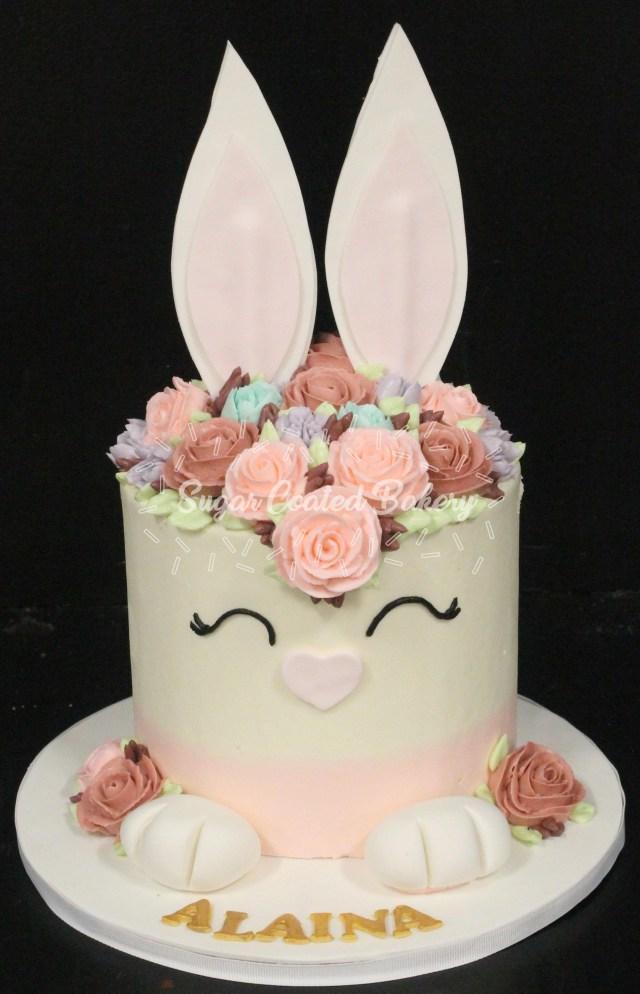 Bunny Birthday Cake Sugar Coated Bakery Lowell Baking Everyday Better