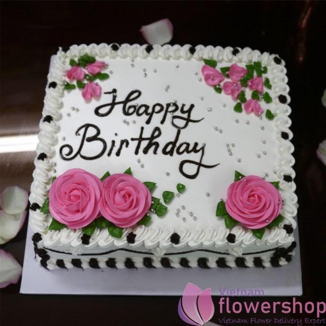 Cake Happy Birthday Happy Birthday Cake In Hanoi Vietnam