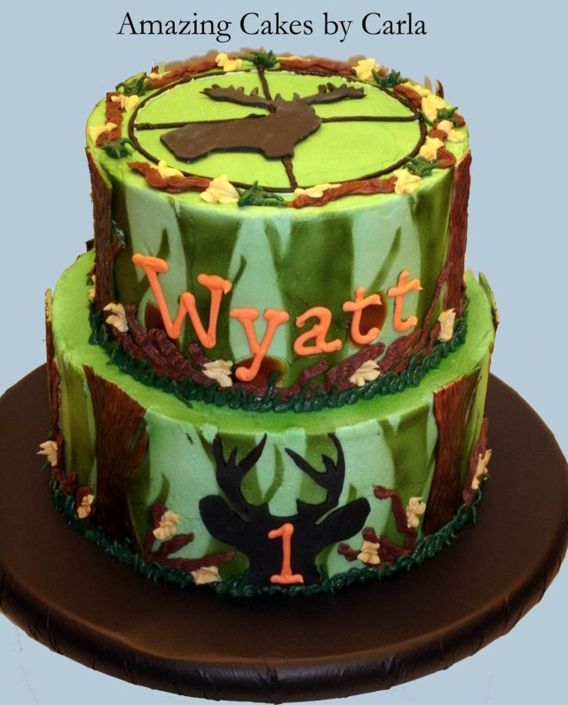 Camo Birthday Cake Hunting Birthday Cake Ideas For Men Camo Deerhunting Cake Cake