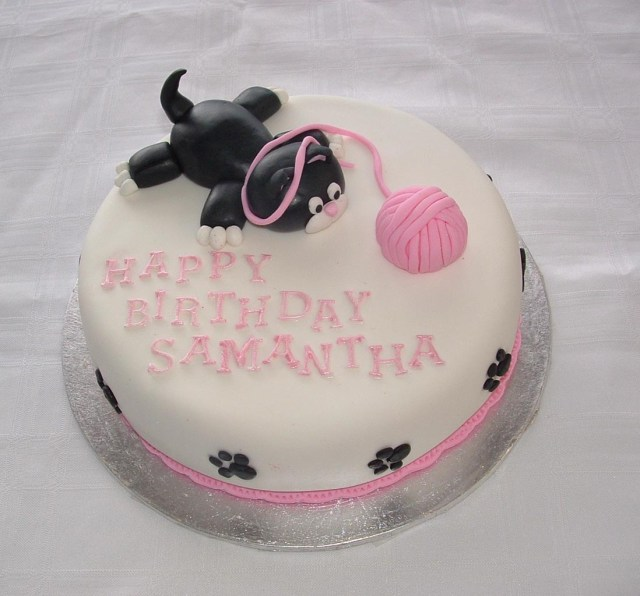 Cat Cakes For Birthdays Animal Cakes Rozzies Cakes Birthday Cakes Wedding Cakes