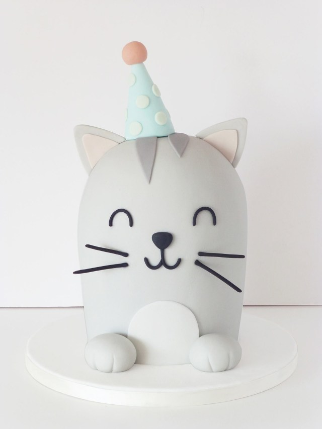 Cat Cakes For Birthdays Soooooo Cute Cat Cake Cat Cake Catcake Birthday Ideas Pinte