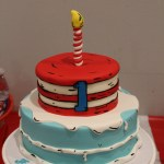 Cat In The Hat Birthday Cake Cat In The Hat Birthday Cake Doctor Suess Birthday Theme In 2018