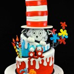 Cat In The Hat Birthday Cake Cat In The Hat Cake Drseuss Cake Cakecentral