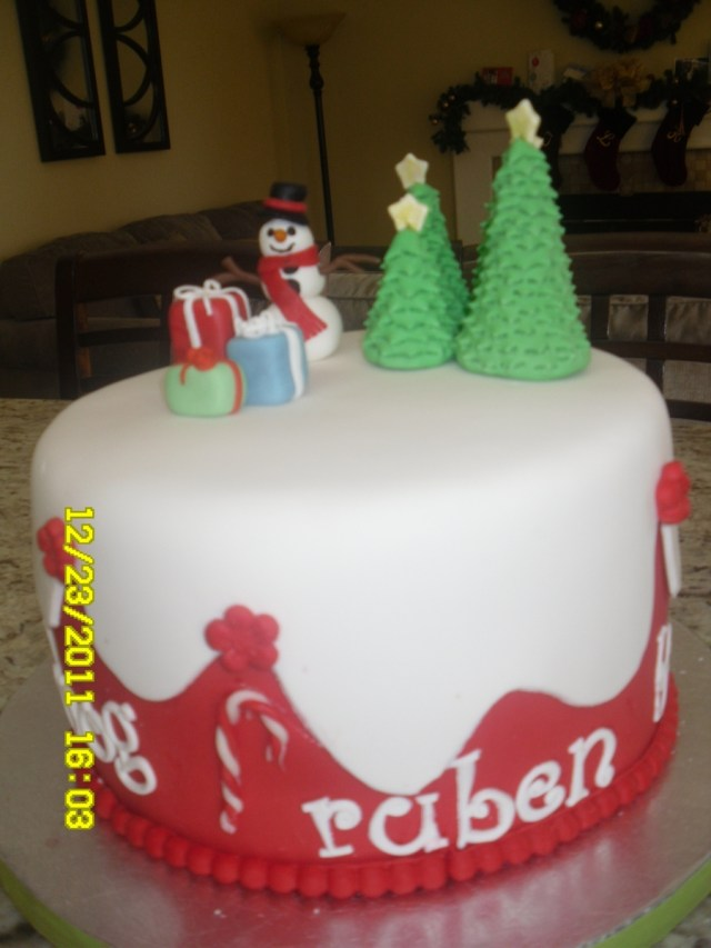 Christmas Birthday Cake Christmas Birthday Cake Cakecentral