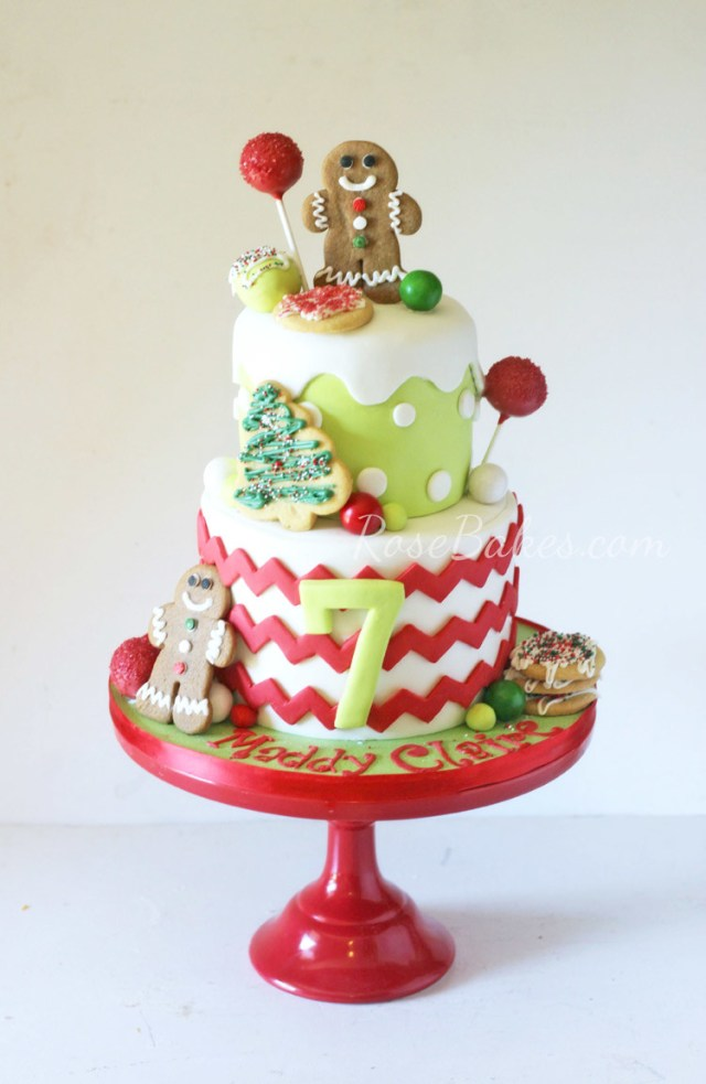 Christmas Birthday Cake Who Takes The Cake December Contest Submit Your Cakes Now Rose