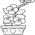 Coloring Pages Spring Coloring Page Springtime Coloring Pages Spring Kindergarten