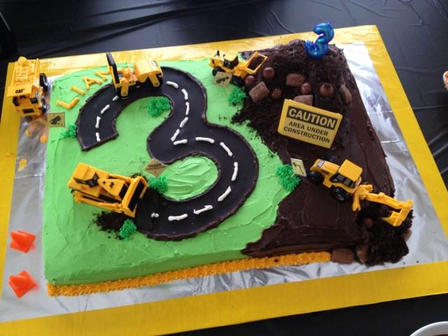 Construction Birthday Cakes Construction Birthday Cake Tucker Turns 2 Pinterest Birthday