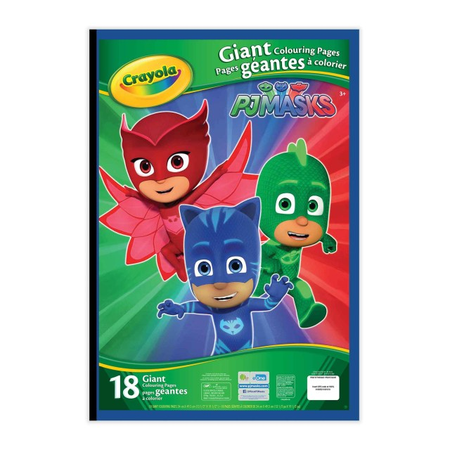 Crayola Giant Coloring Pages Crayola Giant Colouring Pages Pj Masks Crayola Store