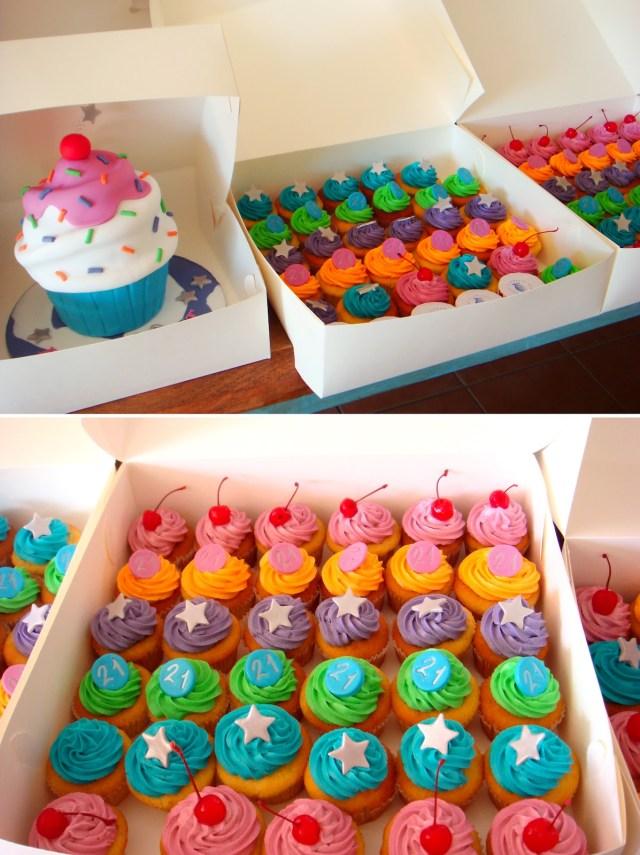 Cupcake Birthday Cake 10 Bakery Party Cake Cupcakes Photo Cupcake Birthday Cake Wedding