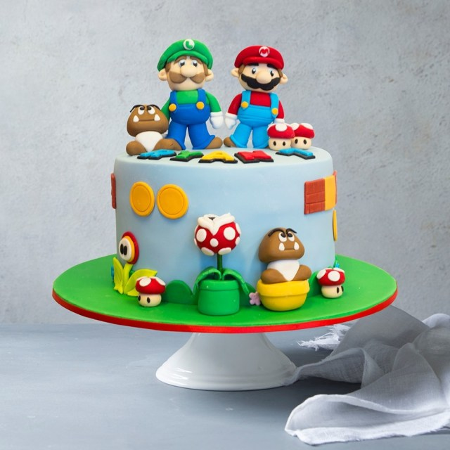Custom Birthday Cake Mario Party Custom Birthday Cake