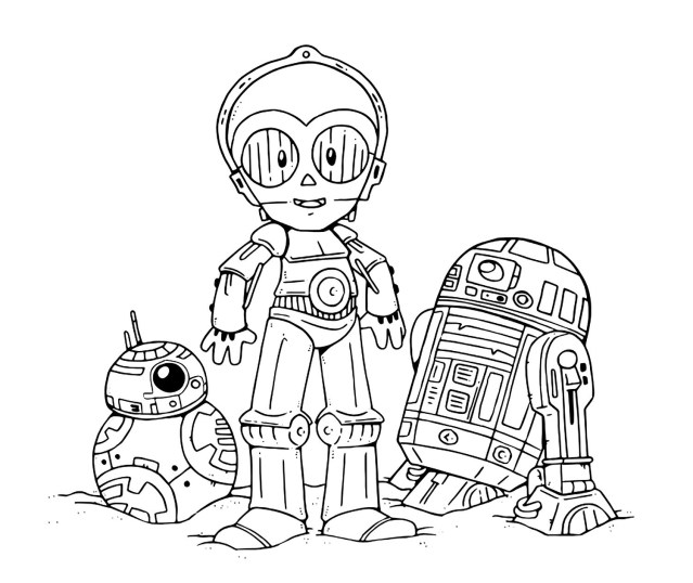 Cute Coloring Pages Star Wars The Last Jedi Cute Coloring Pages Youloveit Coloring
