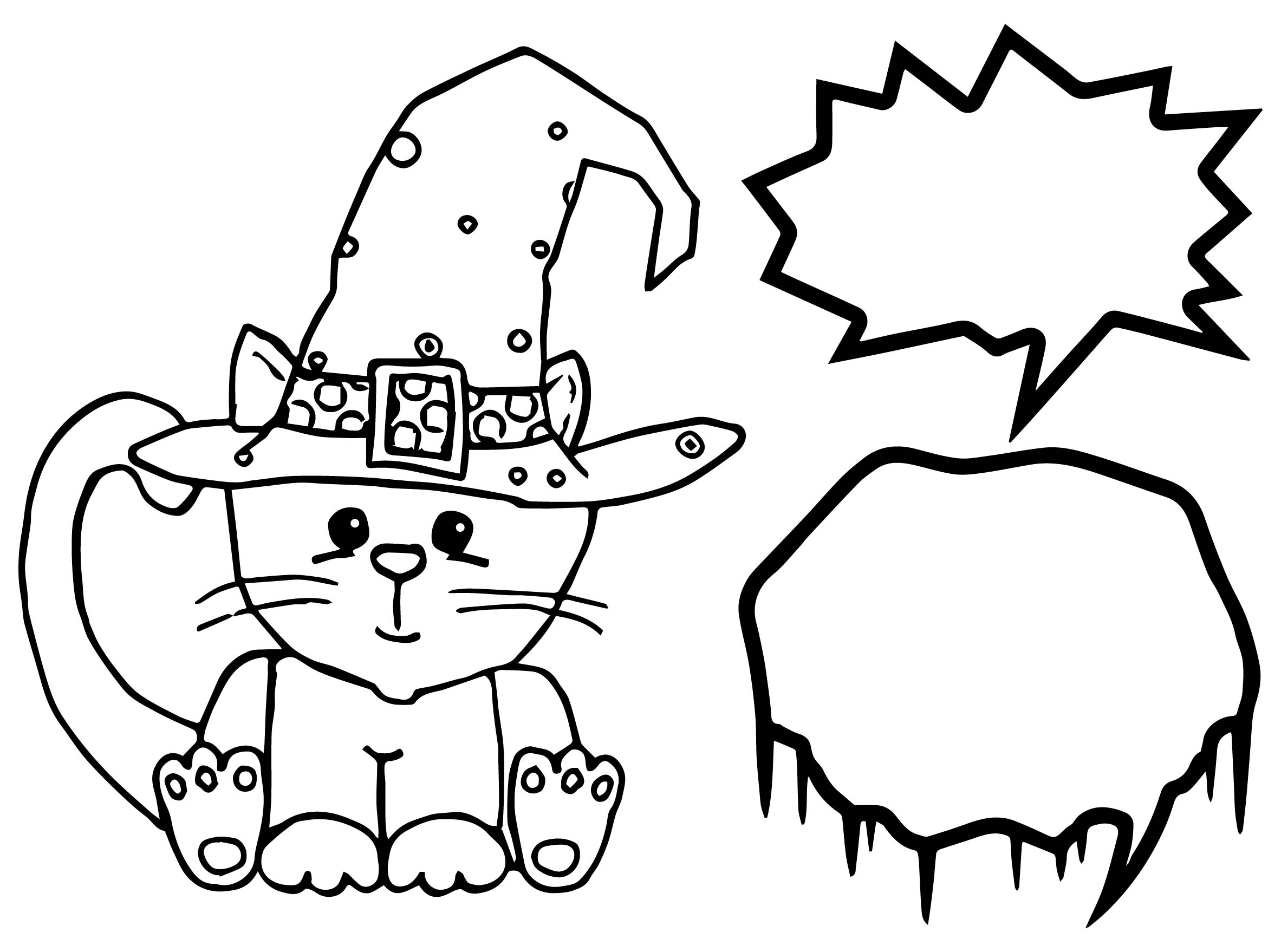 Cute Halloween Coloring Pages Cute Halloween Coloring Page Wecoloringpage