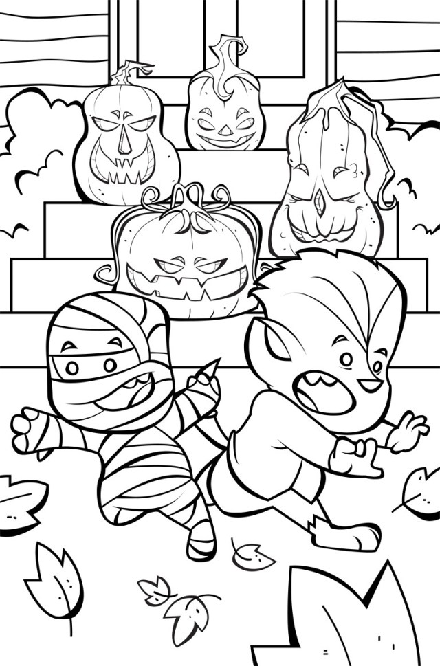 Cute Halloween Coloring Pages New Cute Halloween Coloring Pages 87 About Remodel Download With