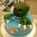 Dinosaur Birthday Cakes 3d Dinosaur Birthday Cake Made Goodies Bakery Winnipeg