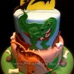 Dinosaur Birthday Cakes Coolest Dino Mite Dinosaur Birthday Cake