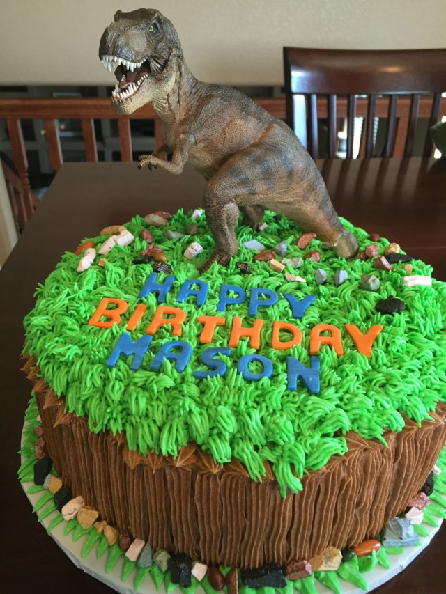 Dinosaur Birthday Cakes Dinosaur Birthday Cakes Cakecentral