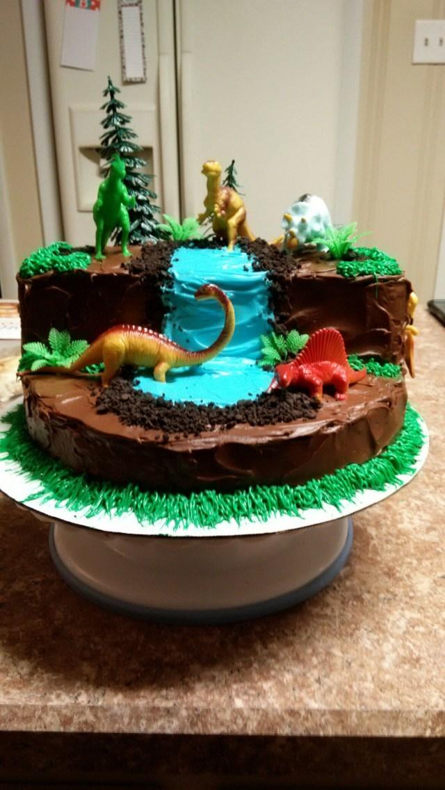 Dinosaur Birthday Cakes Dinosaur Cake Cake Therapy Karen Kristin Pinterest