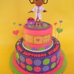 Doc Mcstuffin Birthday Cake Doc Mcstuffins Birthday Cake A Photo On Flickriver
