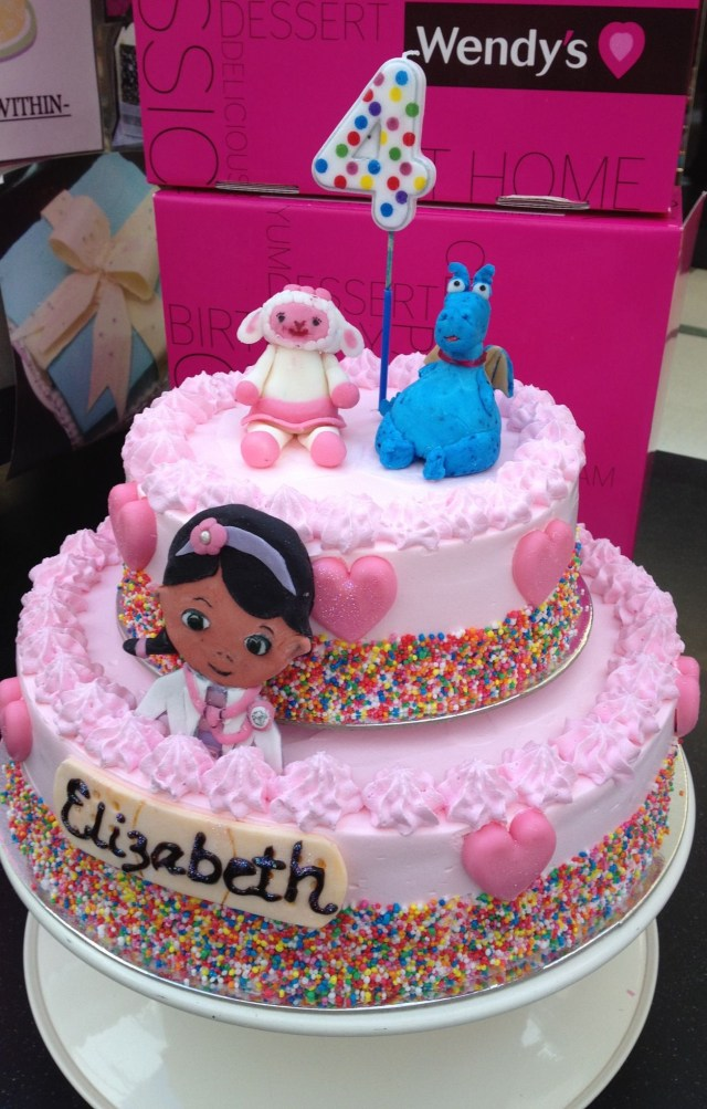 Doc Mcstuffin Birthday Cake This Will Be Julies Cake I Am So Excited Its Gonna Be A