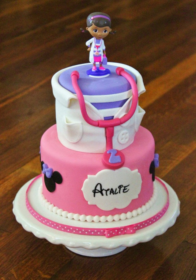 Doc Mcstuffins Birthday Cake Cakes Becky Doc Mcstuffins Minnie Mouse Birthday