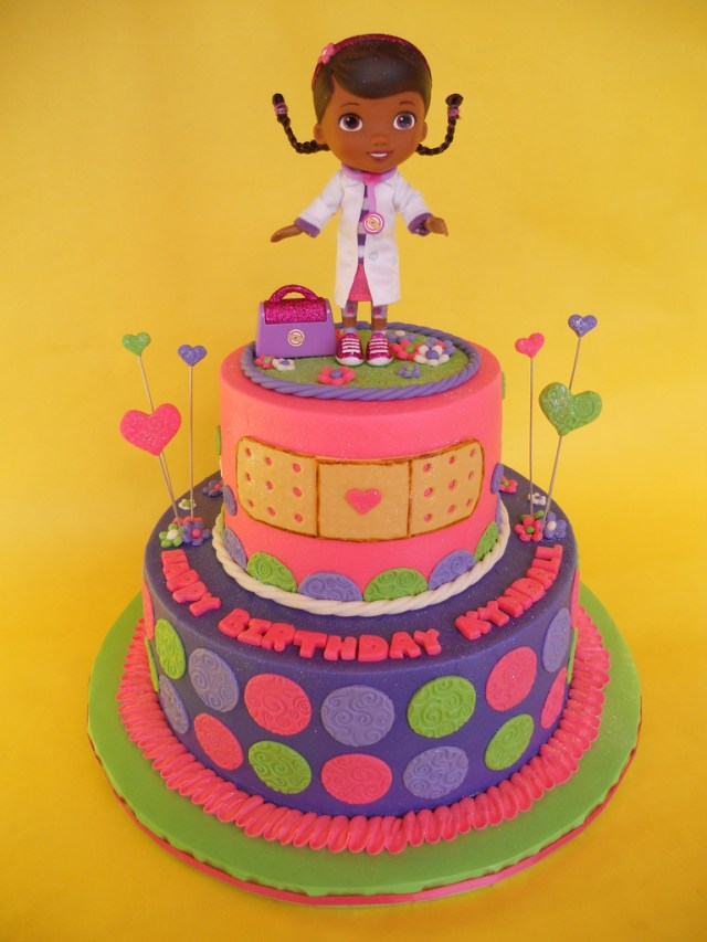 Doc Mcstuffins Birthday Cake Doc Mcstuffins Birthday Cake A Photo On Flickriver