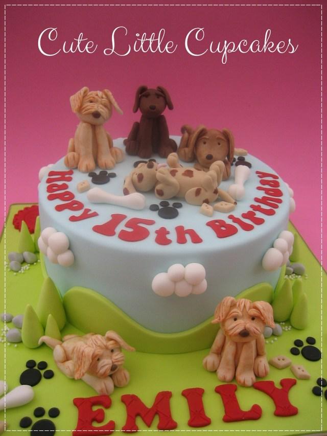 Dog Themed Birthday Cake Dog Themed Birthday Cake Heidi Stone Flickr