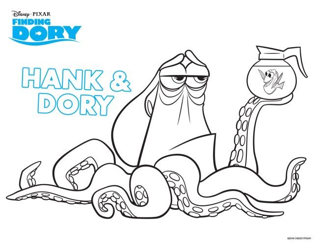 Dory Coloring Pages Finding Dory To Print Finding Dory Kids Coloring Pages