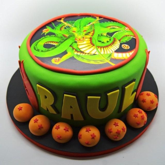 Dragon Birthday Cake Dragon Ball Z Birthday Cake From Patricia Creative Cakes Brussels