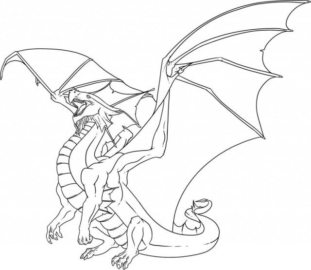Dragon Coloring Pages Cool Dragon Coloring Pages For Kids 9 Futurama