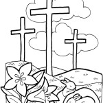 Easter Coloring Pages Religious Religious Easter Coloring Pages Printable Elegant Manificent